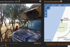 Moulay-Bousselham-•-Der-Ort-Bousselham-liegt-auf-dem-Berg-der-Weg-zum-Meer-ge