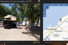 Morocco-•-Moahmmedia-Camping-fast-direkt-am-Meer-coolen-Ausflug-in-die-Med