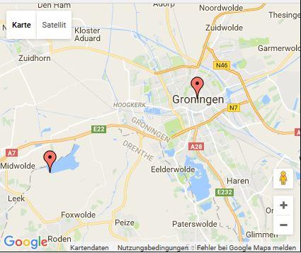 Route Niederlande  2015